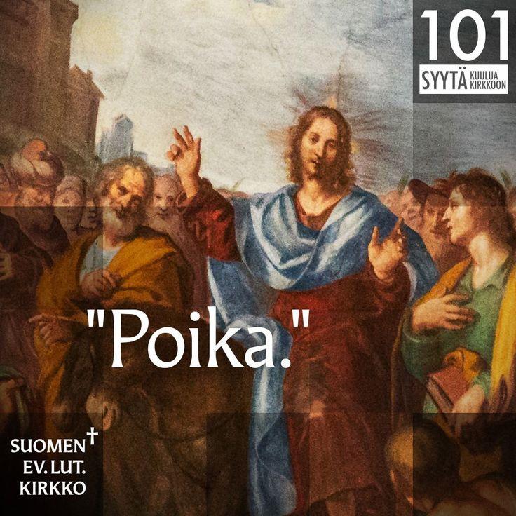 """100. """"Poika."""""""
