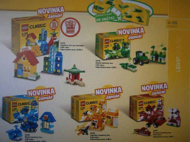 Kinder Lego Fan: LEGO Novinka Kreatívny box pre všetkých staviteľo...