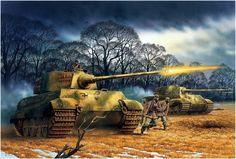 El diablo anda suelto en la carretera de Paderborn, anochecer del 30 de marzo de 1945. Peter Dennis. Durante la confusa lucha al sur de Padrborn el 30 de marzo, el general de división Maurice Rose, comandante de la 3.ª División Acorazada, murió después de que una columna de carros Konigstiger del 3./s.Pz.Abt. 507 atrapara a su jeep. Fue el unico comandante de una división acorazada estadounidense muerto en combate en la Segunda Guerra Mundial. Más en www.elgrancapitan.org/foro/
