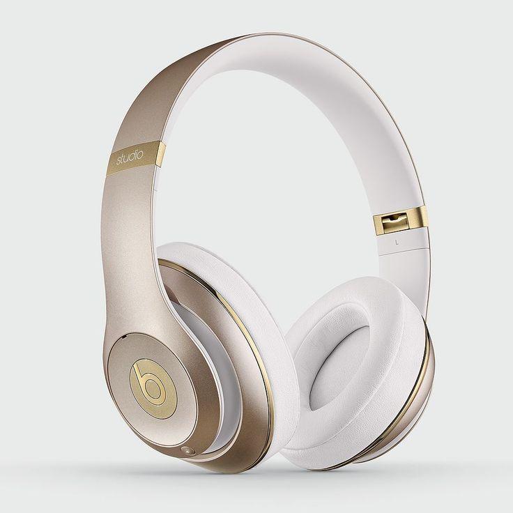 Beats Studio Wireless Headphones, Gold