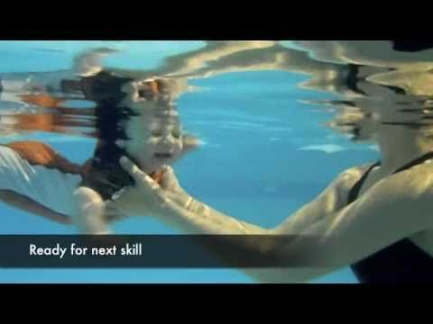 how to teach your baby to swim, swimming lessons (youtube)