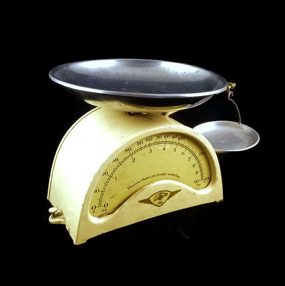 Kitchen scalevintage scaleantique scalemetal by SmalandVintage