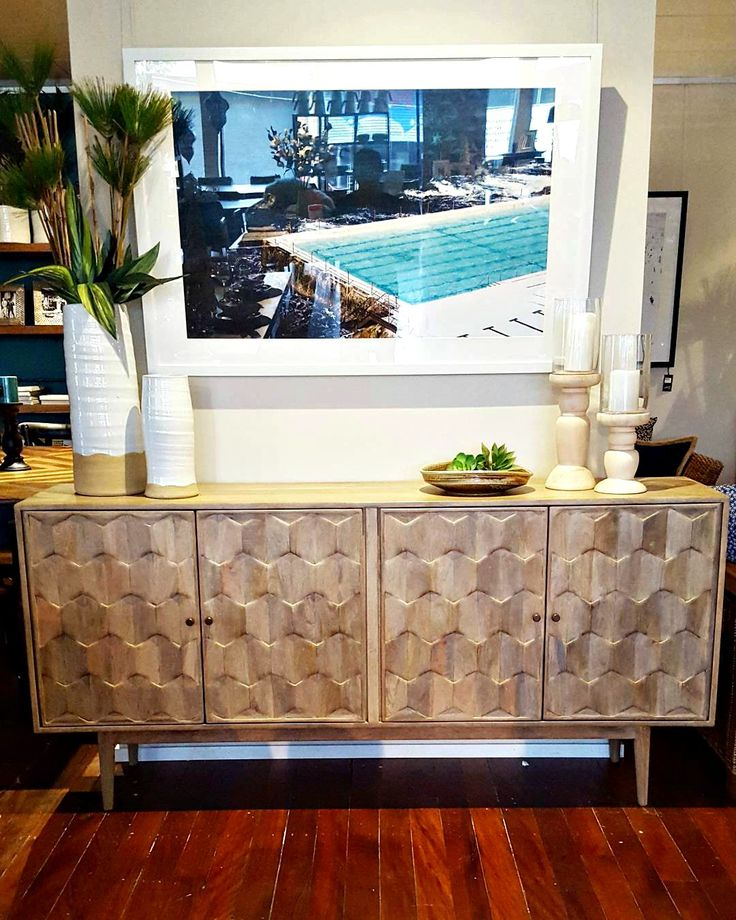 Our Pascal buffet is perfect in so many ways. Not just storage... but a piece of art. Paired with rustic vases and reed sticks, styling this beauty is a breeze!