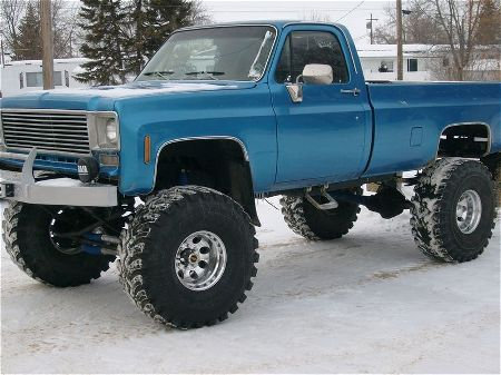 big lifted chevy trucks - photo #37