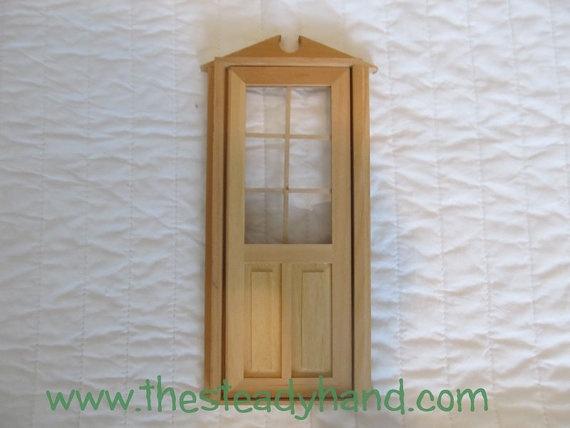 Miniature dollhouse unfinished door miniature dollhouse for Unpainted fairy doors
