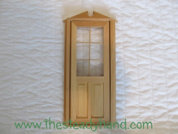 1000 images about american girl dollhouse windows doors for Unpainted fairy doors