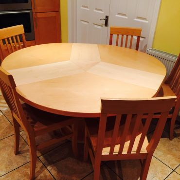 Extending Kitchen Dining Maple For Sale Dublin