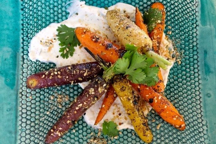 Savory Coconut Dukkah Grilled Carrots  (by Kay Wilson) recipe on Food52