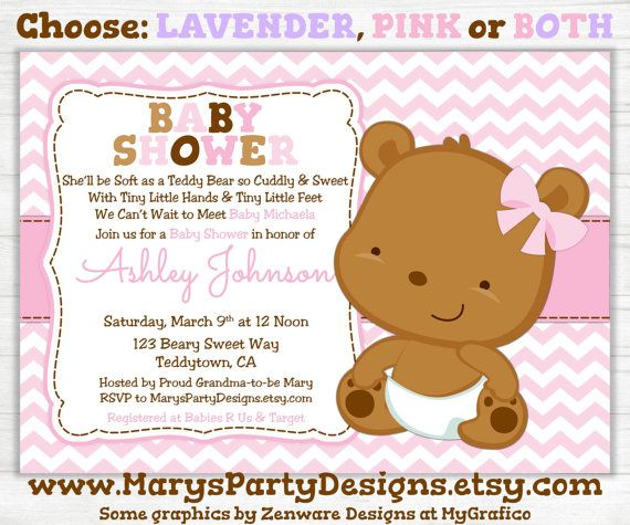 Pink Teddy Bear Baby Shower: 17 Best Images About Pink Bear Party On Pinterest