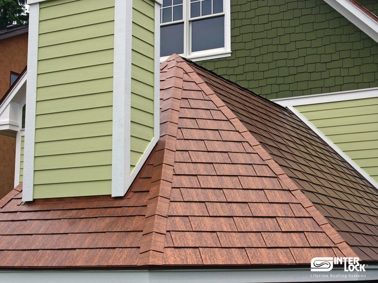 Interlock 174 Shingle Roof System Metal Roofing House