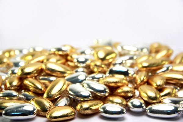 #Confetti Oro Argento #Sweet #Silver #Gold #Food
