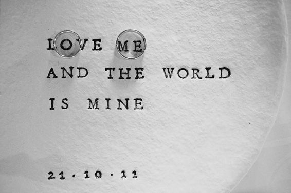 Love me and the world is mine