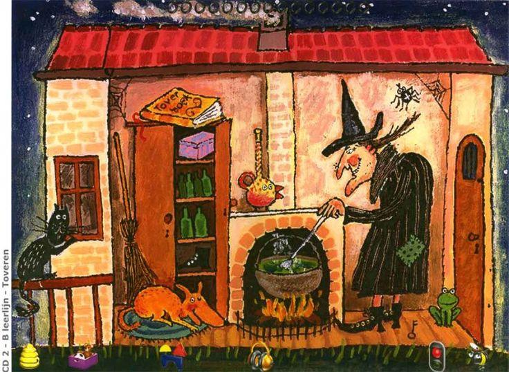 Praatplaten voor digibord.  Thema heksen / Lesideeën | Kleuter-fl-ow.jouwweb.nl. Verder ook verzameling filmpjes oa liedje vd zes heksen (schooltv)