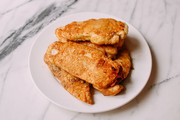 Chicken Francese, by thewoksoflife.com