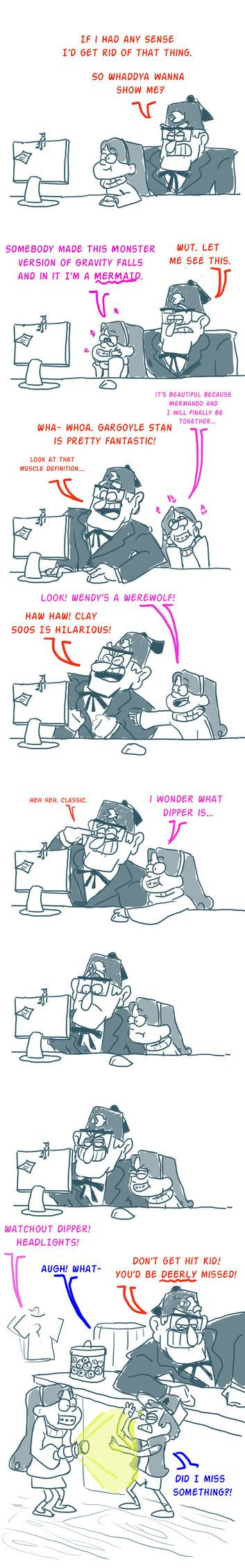 Mabel discovering the internet by Dravening on DeviantArt