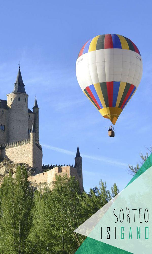 Siempre en las nubes quiere premiaros con una plaza de vuelo para un paseo en globo por la provincia de Segovia* valorado en 145€, la aventura la vives tú! @vuelaenglobo  #sorteo #sorteos #gratis #sorteogratis #sorteosgratis #sorteomadrid #sorteosmadrid #Madrid #suerte #luck #goodluck #premio #free #globo #balloon #aventura