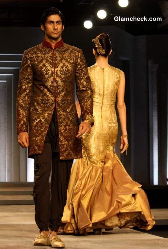 ~ Living a Beautiful Life ~ Shantanu and Nikhil India Bridal Fashion Week 2013 Day 1