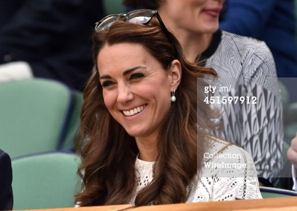 Catherine Duchess of Cambridge attends the Simone Halep v Sabine... News Photo 451597912 | Getty Images