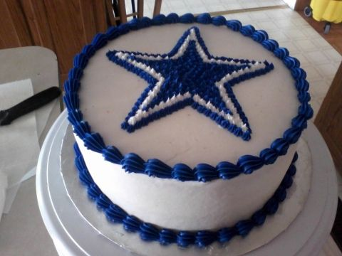 Dallas Cowboys Cake, via Flickr.
