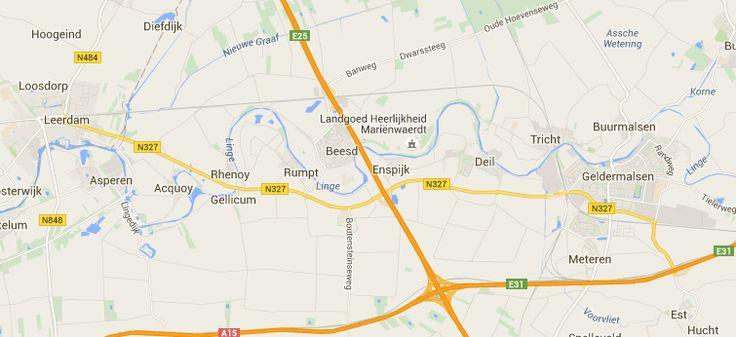 erfgoedroute 38,2 km Langs de Linge van Geldermalsen naar Asperen. Leuk om in delen te doen.