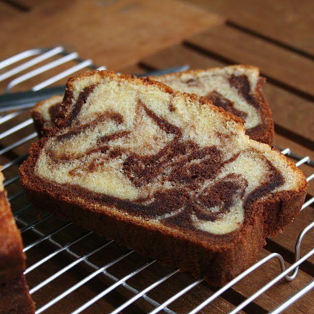 Marbled Pound Cake | Cakes | Pinterest