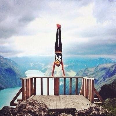 wow! #sport #exercise #fit #landscape #photo