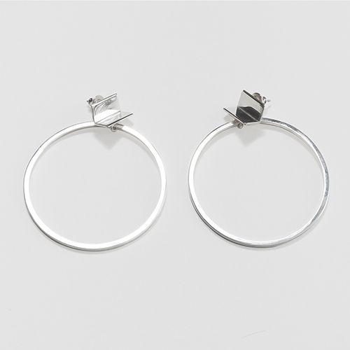 Jessie Harris Ledge Hoop Earrings