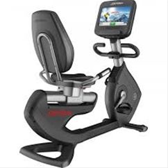 The Platinum Club Series Lifecycle Exercise Bike is available with either the Discover™ SE Tablet Console, which redefines the home workout experience. The integrated LCD touch-screen features an abundance of entertainment options, enhanced interaction, Internet connectivity and much more. Discover Tablet Consoles are club-quality technology, for the home.
