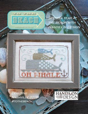 Oh Whale - To The Beach #1 - Cross Stitch Pattern