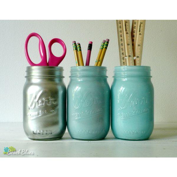 96 best дом интерьер images on Pinterest Mason jars, Decorated - glasbilder für küche