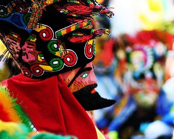 """MEXICO  Chinelo originario de el estado de Morelos, tradición con colorido y ritmo """" El brinco del Chinelo"""""""