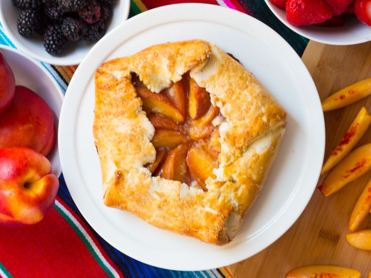 Nectarine and Honey Galette by Butter & Type | DESSERT | Pinterest ...
