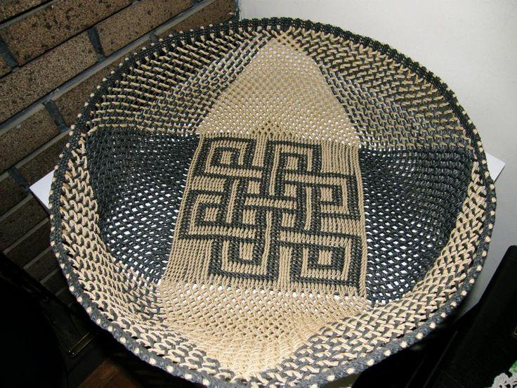 Basket Weaving Fiber : Best braiding ply split images on