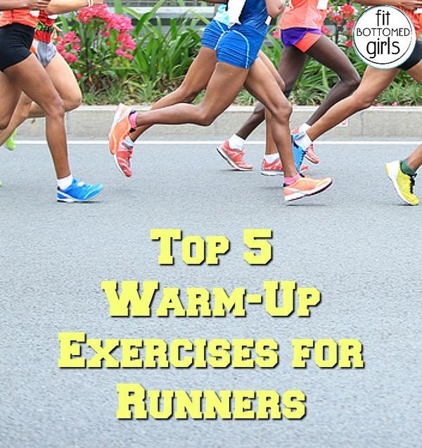 Warm up for your run with these top 5 exercises!