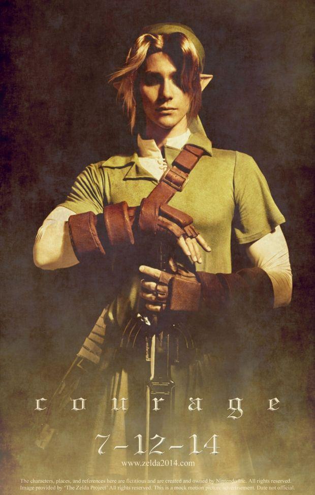 "Cool Fan-Made Video Game Movie PosterArt - ""Legend of Zelda"""