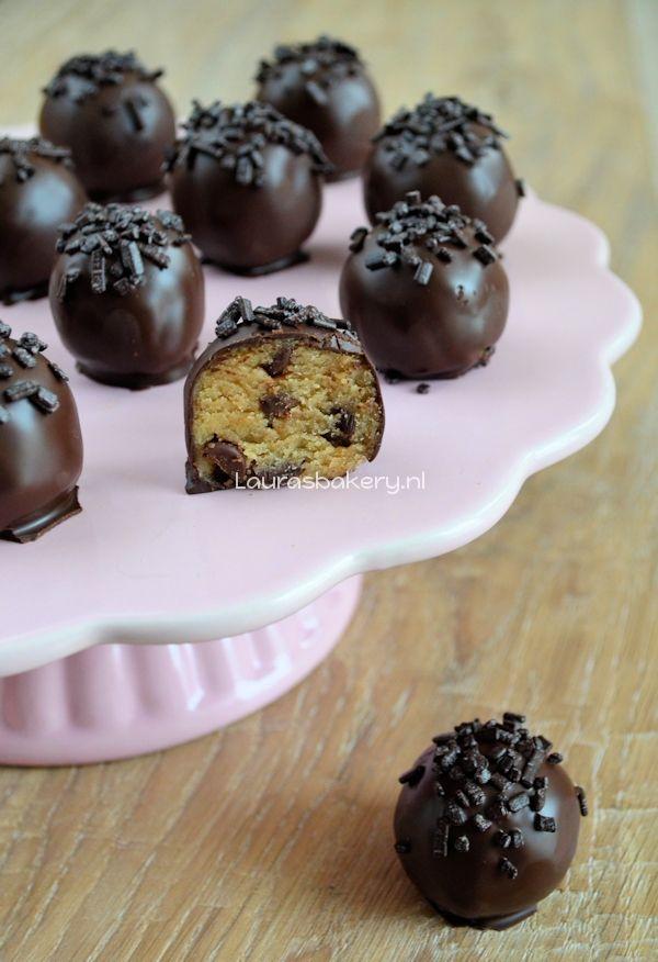 cookie dough bonbons