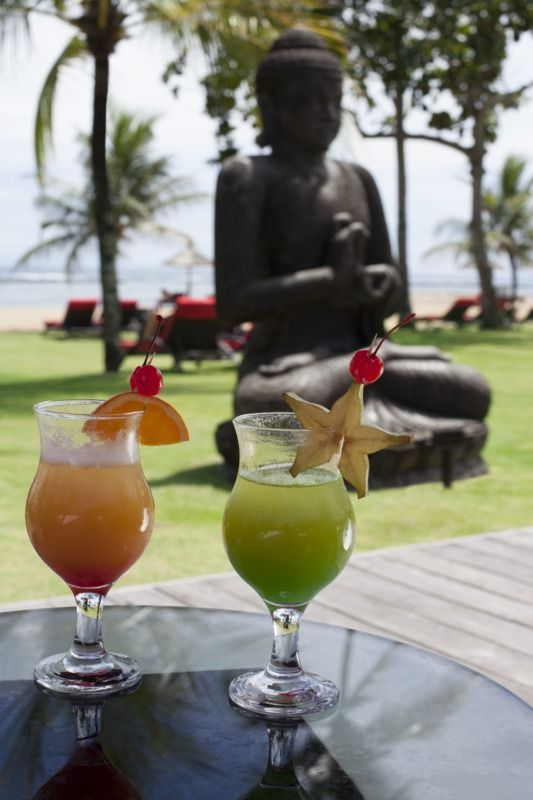 Delicious cocktails at Club Med Bali