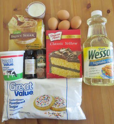 The Country Cook: Honey Bun Cake