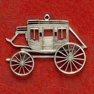 Concord Coach Pewter Christmas Ornament $19.99 #MadeiNUSA #MadeinAmerica #Shopping