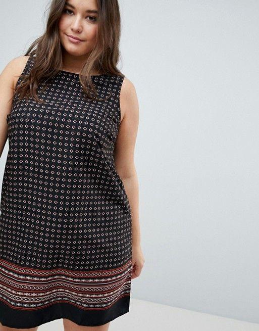 649fd58ebbfd New Look Curve Printed Dress
