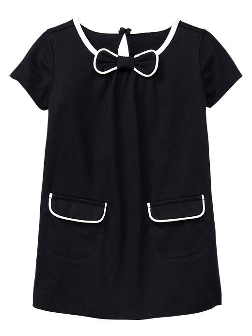 Gap | Piped bow dress