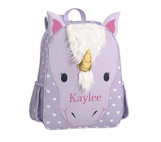 Classic Critter Unicorn Backpacks Preschool Girl