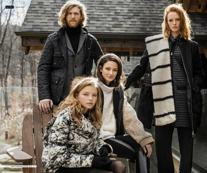 Our Fashion editorial of Mixte Magazine 17 - Warm Trails.