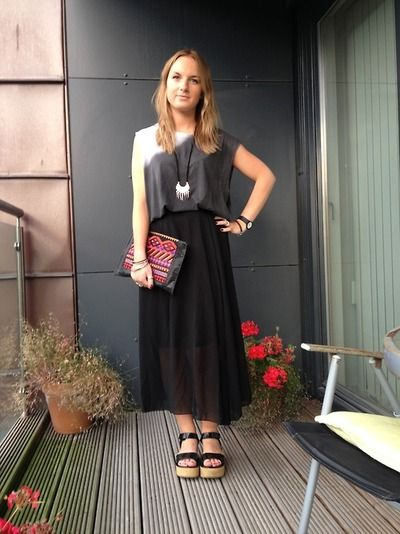 Rebecca from http://good-day-agency.com/post/59093898788/oversized-t-shirt-zara-black-mesh-skirt-c-o in our http://www.prodigyred.com/p3472/shaniqua-chiffon-maxi-skirt/product_info.html?attr_id=9