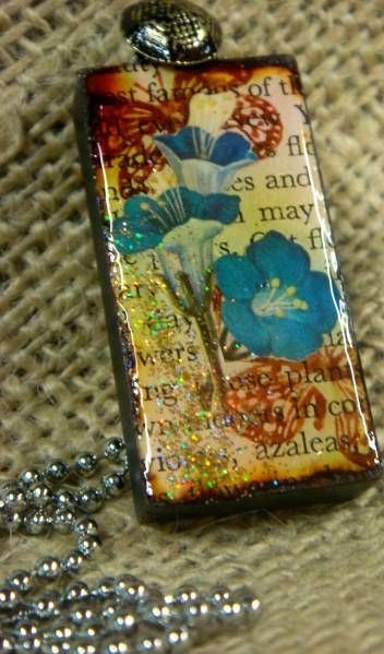 Altered Art Domino by chocolatecanary - Cards and Paper Crafts at Splitcoaststampers