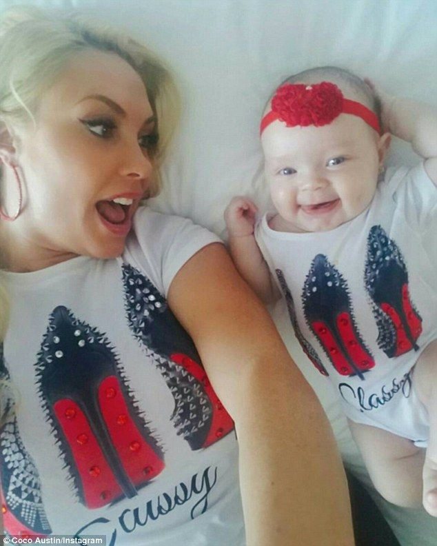 Twinning! On Saturday, Coco Austin, 37, showed off her taste in fashion with daughter Chan...