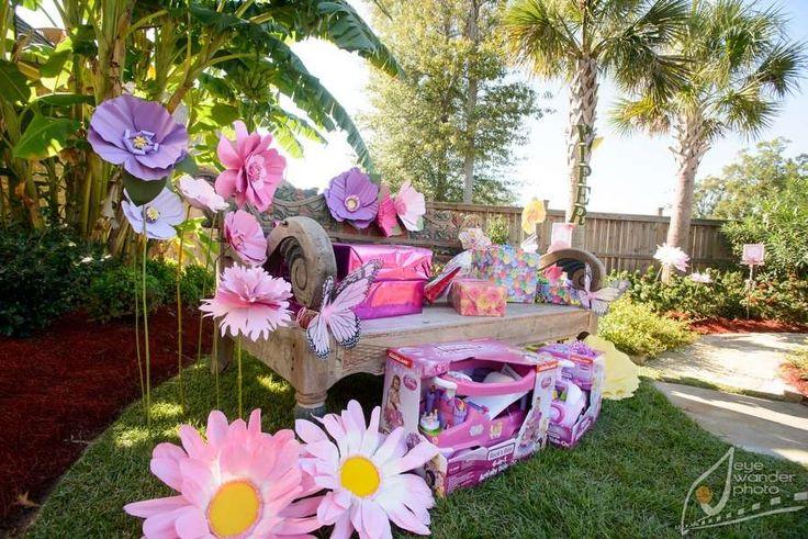Butterfly Garden Birthday Party Ideas Gardens Birthdays