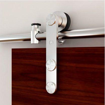 58 best Modern Barn Doors images on Pinterest Modern barn doors - roulement de porte coulissante