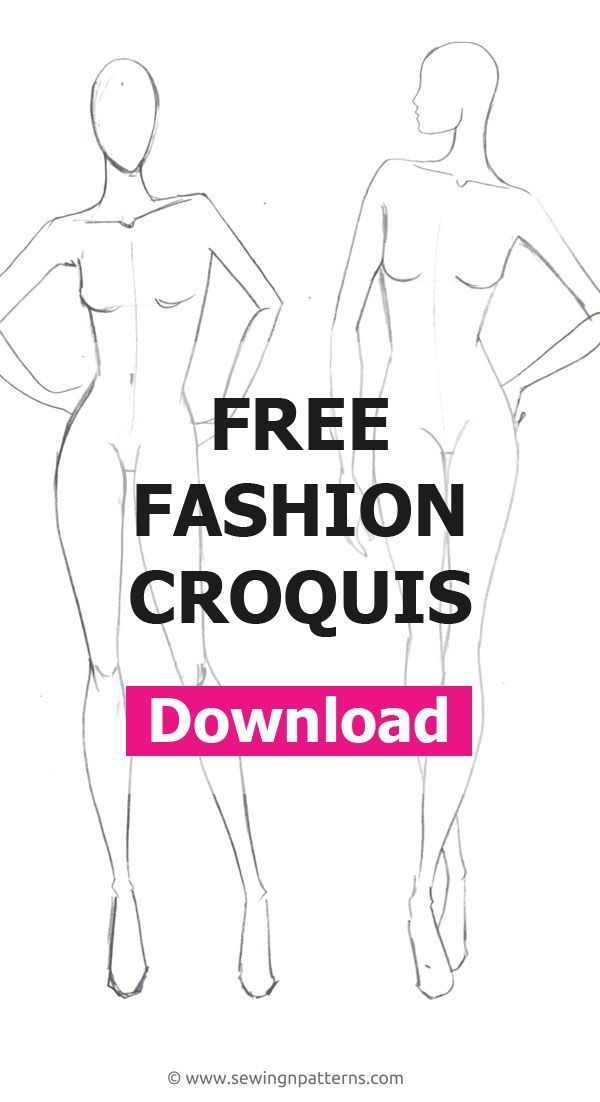 Fashion Figure Templates The Ultimate List For Your Next Fashion Project Fashion Design Template Fashion Illustration Template Fashion Model Sketch
