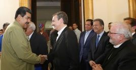 El expresidente Zapatero se reunió recientemente con el presidente Maduro en Caracas.